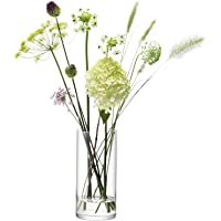 LSA International CO21 柱状花瓶 高28 x 直径13 厘米 透明