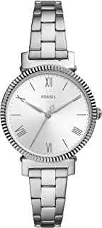 Fossil 女士石英皮革三针手表,型号:ES4862