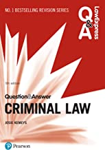 Law Express Question and Answer: Criminal Law (Law Express Questions & Answers) (English Edition)