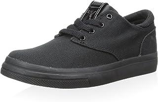 PUMA 儿童 El Seevo 青少年运动鞋,黑色/白色,美码 3.5 M/M 小童