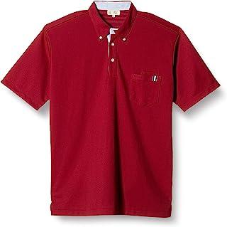[Kirak] 条纹拼接 纽扣护理用针织衬衫 CR145