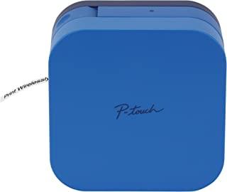 Brother 兄弟 P-Touch Cube 智能手机标签制造商,蓝牙无线技术,可用的多个模板,兼容苹果与Android-蓝色