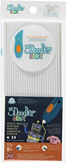 3Doodler 开始补充塑料套装 8 years to 18 years 纯白色 Polar White Simply White (X24 Strands)