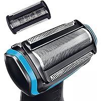 BG2000 替换修剪器/剃须刀箔头适用于 Philips Norelco Bodygroom BG7040 BG703…