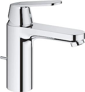 Grohe 高仪 23325000 Eurosmart Cosmopolitan 浴室龙头(弹出式下水和高喷嘴),中号