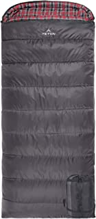 TETON Sports Celsius XL 睡袋;非常适合家庭露营;免费压缩袋
