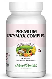 Maxi Health 优质酵素复合*酶辅助乳制品和*,60粒