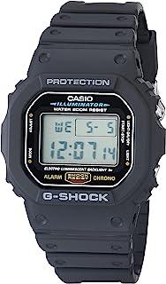 Casio 卡西欧 男士 G SHOCK 石英手表 树脂表带 DW5600E-1V 黑色 20