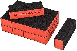 Ace Select 10 件粗糙磨毛*磨皮块 - 3 面*护理产品用于塑形和光滑 - 美甲艺术沙龙丙烯酸美甲工具