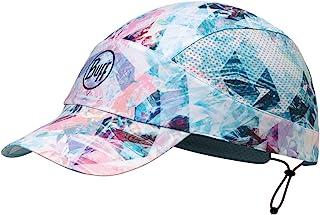 BUFF 百福 中性 折叠跑步帽系列均码帽子 117212.711.10 白粉色