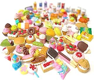 Iwako 铅笔橡皮擦礼物儿童圣诞节返校礼物日本制造(甜点混合20件)
