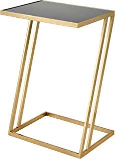 Sterling Home Kingsroad 金色和黑色矩形装饰桌,