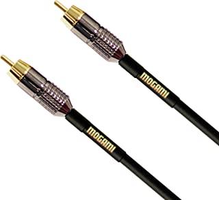 Mogami GOLD RCA-RCA 单声道音频/视频接插线,RCA 公插头,金色触点,直连接器GOLD RCA-RCA-03 3 Foot