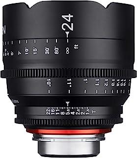 Xeen 15024T1.5PL T1.5 Cine 镜头 PL连接器 24 毫米 黑色