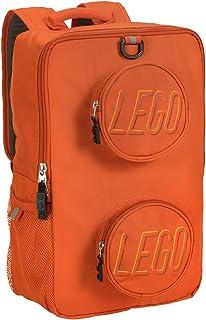 LEGO 乐高积木背包 橙色 均码