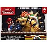 Nintendo 任天堂 Super Mario Bowser Vs Mario Diorama人偶3件装