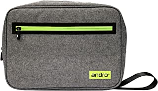 andro 乒乓球 球拍箱 Android SQ壳 II 灰色×黄色 尺寸/31x22x5.5cm 412060
