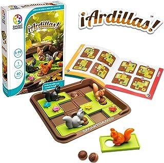 Smart Games 松鼠,教育,趣味礼物,儿童*玩具,玩具女孩6岁及以上,棋盘游戏 (1)