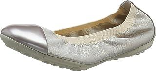 Geox 女孩 Jr Piuma 芭蕾舞鞋 A 封闭芭蕾舞鞋