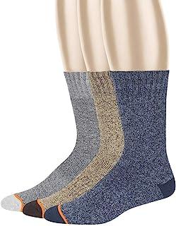 防风雨男式保暖水手袜 3 双装