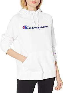 Champion 女式 Powerblend 图案连帽衫