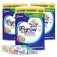 Abbott 雅培 Similac 恩美力系列 Go&Grow 铂优恩美力 牛奶型婴幼儿饮品 奶粉(3件装),36盎司…