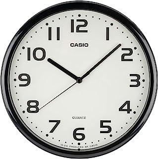 CASIO 卡西欧 挂钟 黑色 直径25厘米 模拟 MQ-24 设计 IQ-24-1JF
