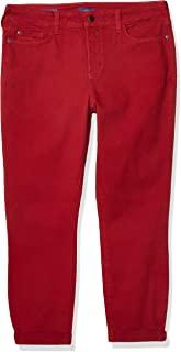 NYDJ Women's Rachel Rolled Cuff Ankle Jeans in Bull Denim