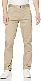 G-STAR RAW 男式纤细斜纹棉布裤长裤