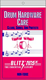 Blitz Music Care 334-4x 鼓护理,4 件装