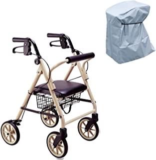 竹虎 步行车 快乐迷你 牛奶茶米色 多功能防雨罩套装