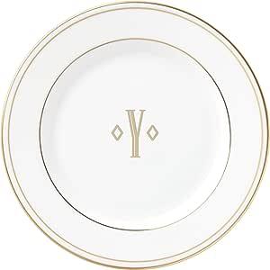 Lenox 联邦金块交织字母餐具 字母 Y 871963