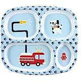 Bumkins Melamine Plate, Fire Engine
