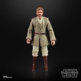 Star Wars 黑色系列 OBI-Wan Kenobi(绝地武士)玩具 6 英寸比例 克隆攻击玩具 收藏版 4 岁及以上