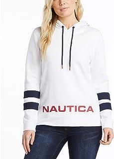 Nautica 女士经典超柔软 * 纯棉套头连帽衫