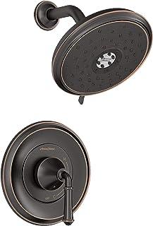 American Standard TU052507.278 Delancey 节水淋浴器仅修剪套件,传统青铜色