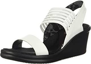 Skechers 斯凯奇 女式Cali Rumblers Sci-Fi坡跟凉鞋