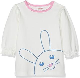 Schnizler 婴儿女童汗衫双面布 Häschen 长袖 T 恤