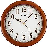 Casio 卡西欧 电波模拟 室内装饰时钟 棕色 IQ-1105J-5JF
