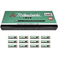 三菱铅笔 铅笔 9800 HB 限量盒套装 12打 HK9800GBHB