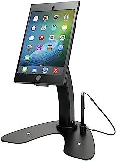 CTA 数字:双*站支架,带锁定保护套,适用于 iPad mini 1-5,黑色