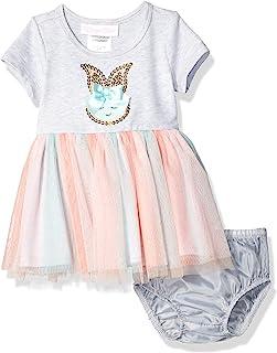 Bonnie Baby 女童亮片兔子扎染芭蕾舞短裙