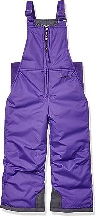 Arctix 婴儿/幼儿胸前高雪围兜连体衣 3T 紫色 1575-18-3T -69-3T
