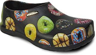VANGELO 专业防滑洞洞鞋男士工作鞋*鞋厨师鞋 Carlisle 黑白色 石灰 多色