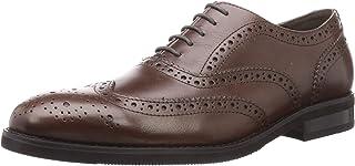BlueSea商务鞋 真皮 真皮鞋 翼尖头 装饰孔 日本设计 BS-003 男士