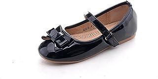 Mila 女孩休闲一脚蹬芭蕾平底鞋(Jodie-4)