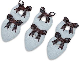 Bag-a-Vie Footsies 鞋垫 Neutral Herringbone