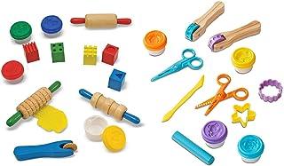Melissa & Doug 粘土游戏套装 - 塑形,压模,模具,切割,雕刻和印刻