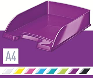 LEITZ 利市 WOW系列文件盘 (金属紫) 52263062