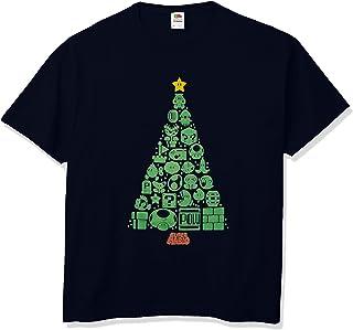 任天堂图标圣诞树成人 T 恤